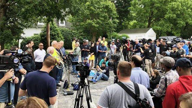 워싱턴 메트로 지역 미디어 취재 열기 후끈