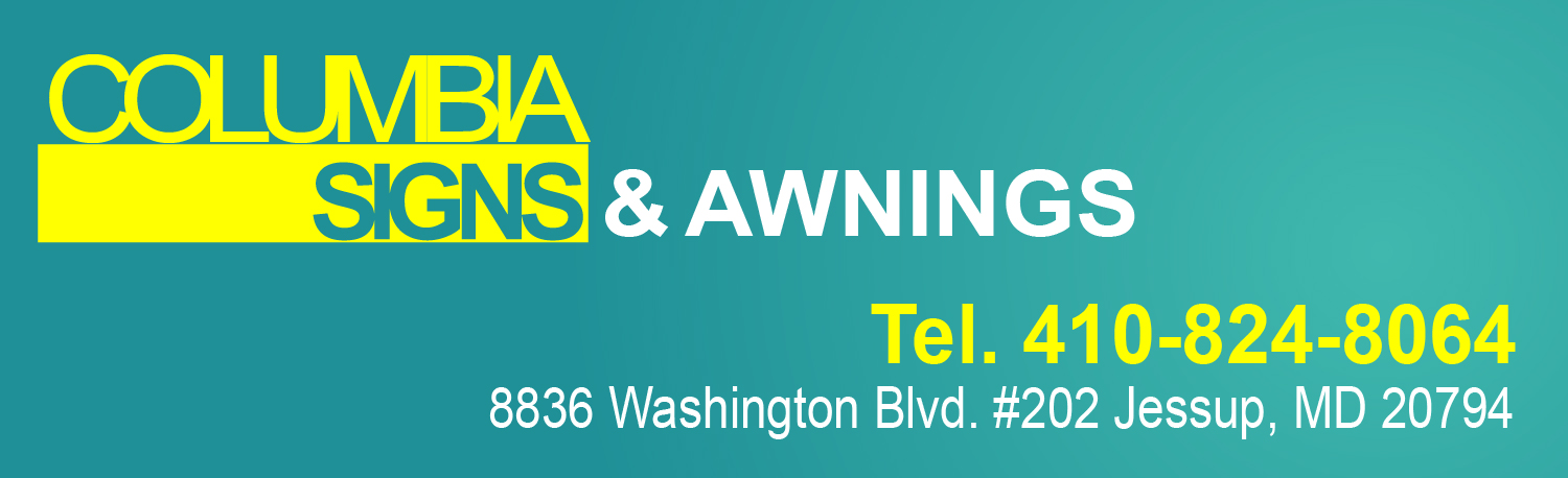 Columbia Signs & Awnings Jessup MD