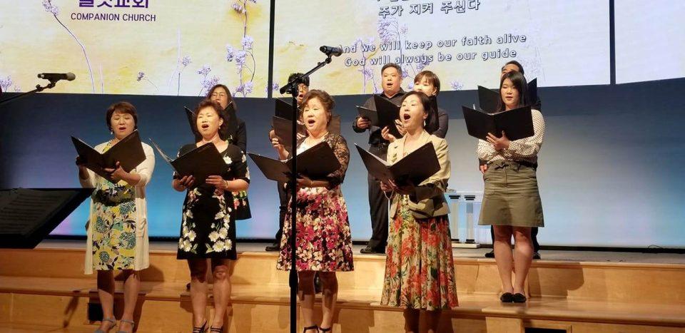 길벗교회 하늘소리성가대(지휘 안정희, 반주 안보송)